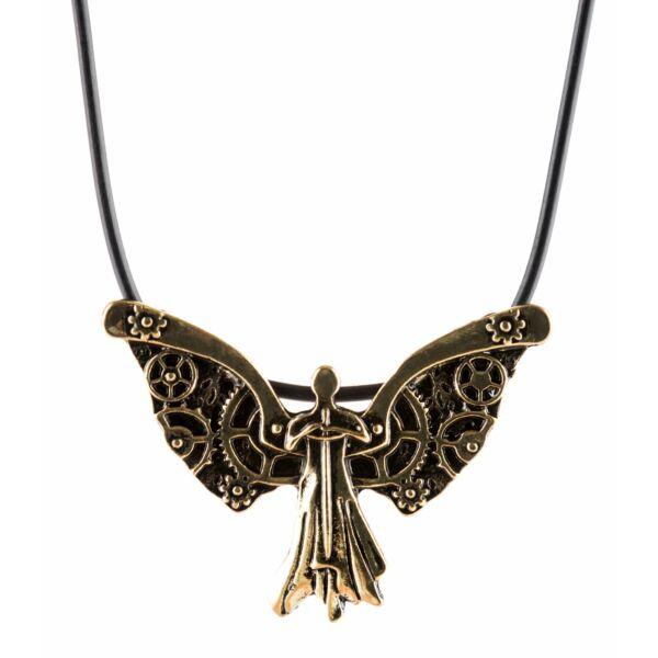 Óramű angyal nyaklánc
