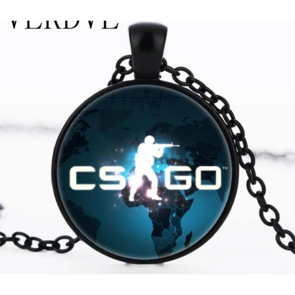 CS GO üveges nyaklánc