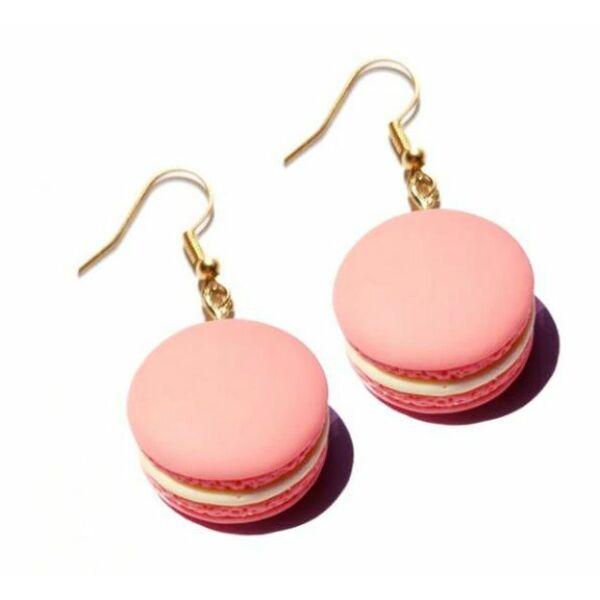 Macaron fülbevaló